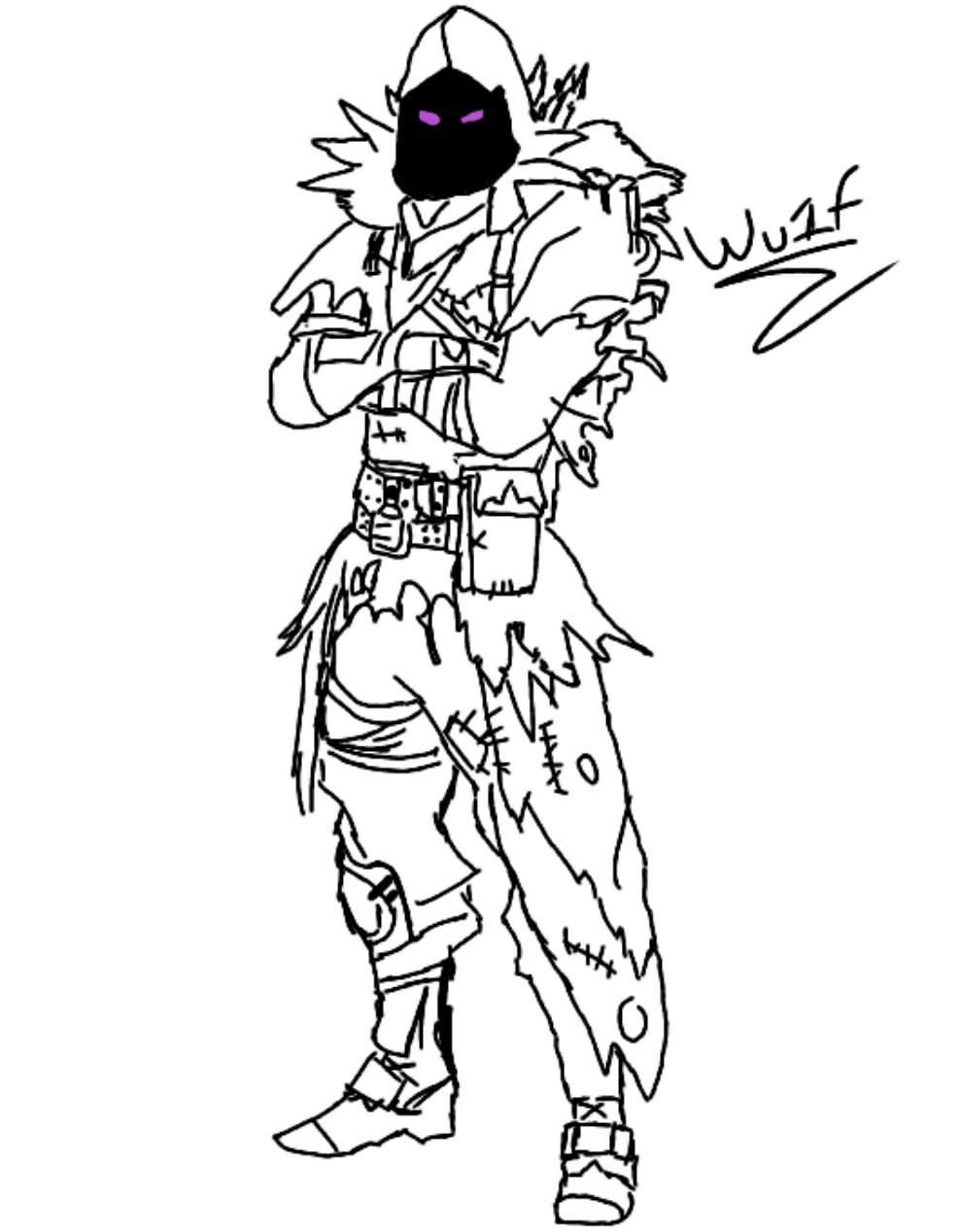 Raven WOOOOOOOOW  Fortnite: Battle Royale Armory Amino