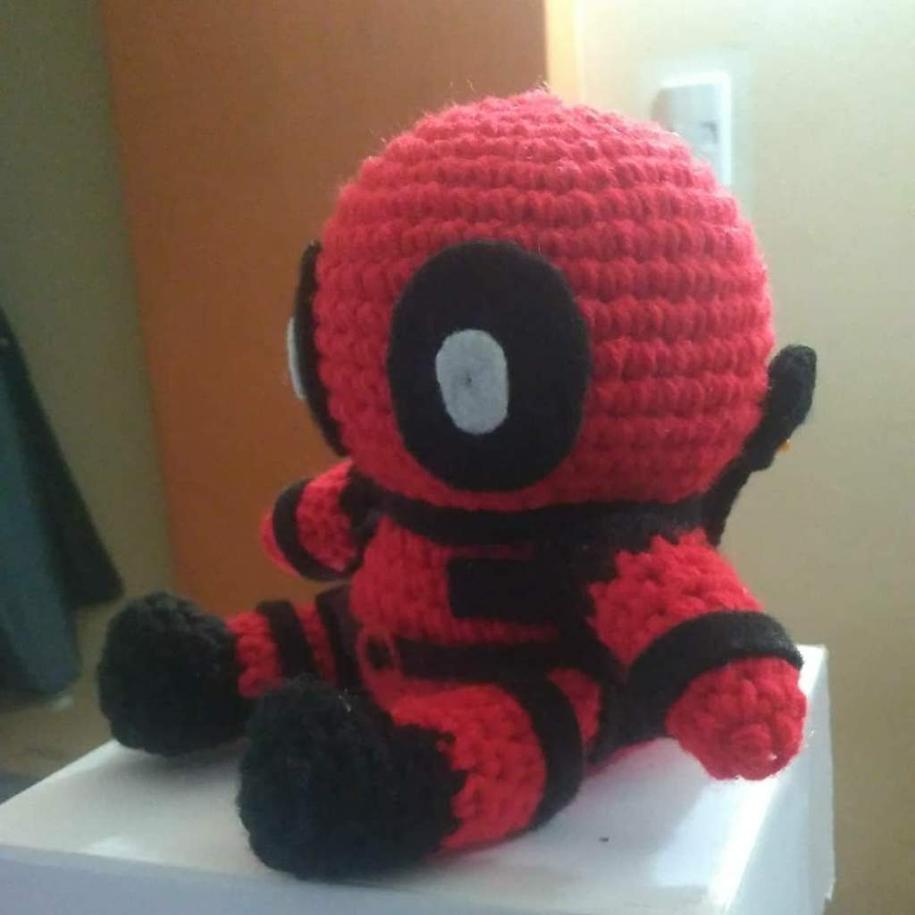 Deadpool Crochet pattern PDF Amigurumi superheroes Comics inspired ... | 1024x1024