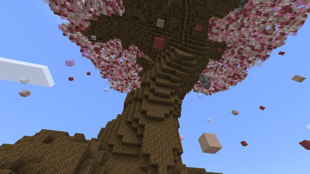 🌸GIANT Sakura Tree Build!!🌸 | Minecraft Amino