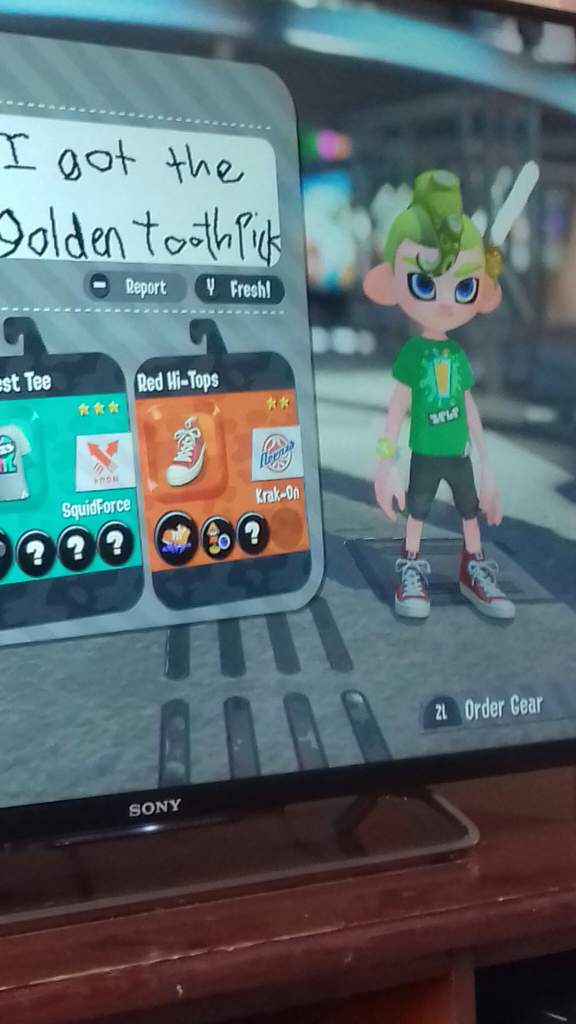 splatoon 2 golden toothpick