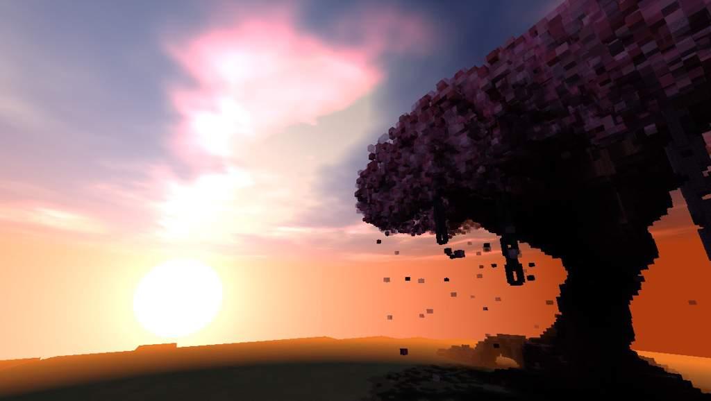 :cherry_blossom: GIANT Sakura Tree Build!! :cherry_blossom:  Minecraft