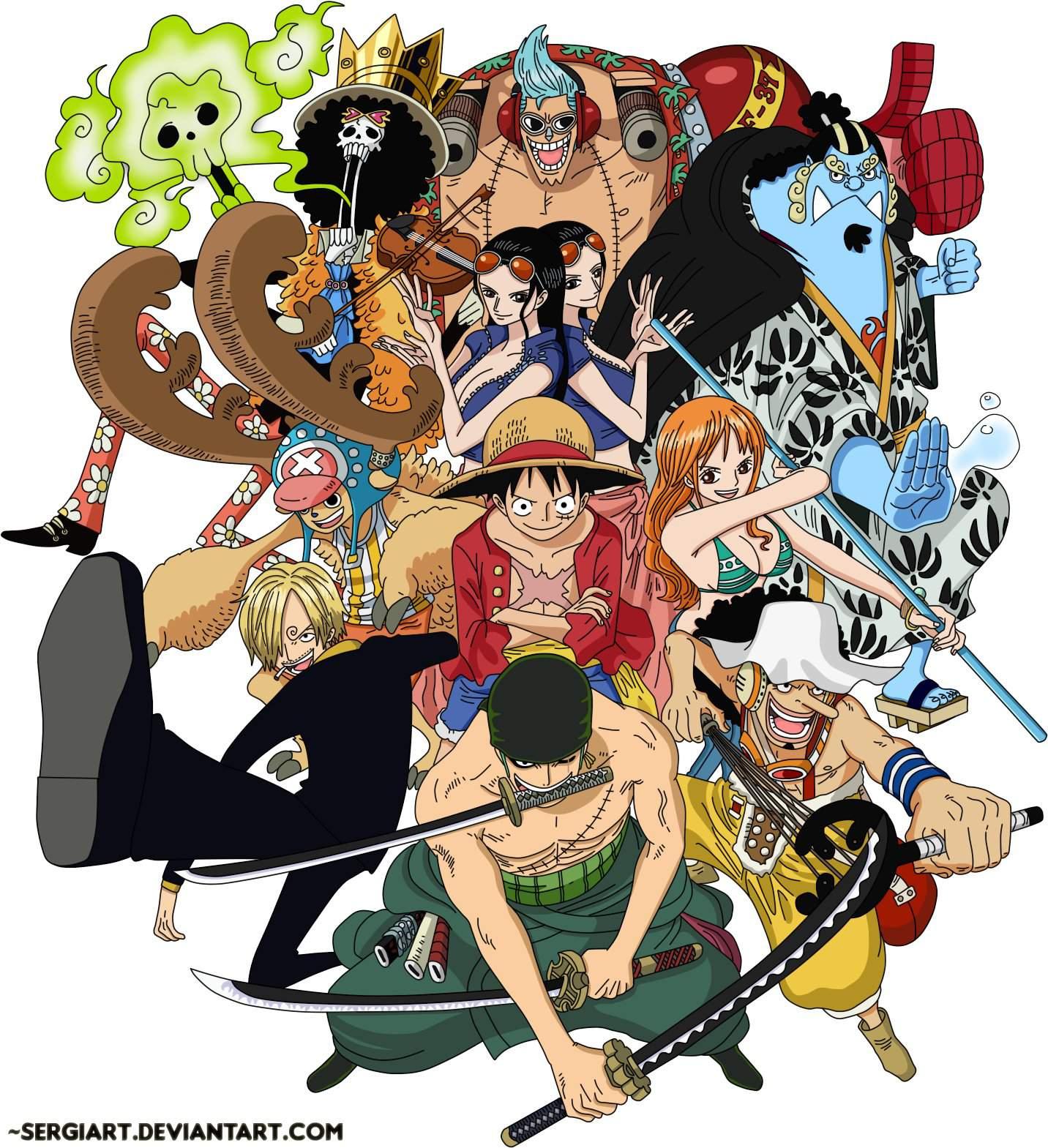 Top 10 Favorite Straw Hat Pirates | One Piece Amino