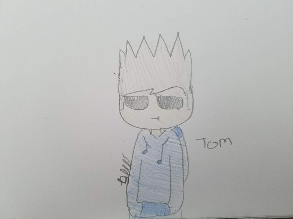 I also drew tom for me Jehovah witnesses friend