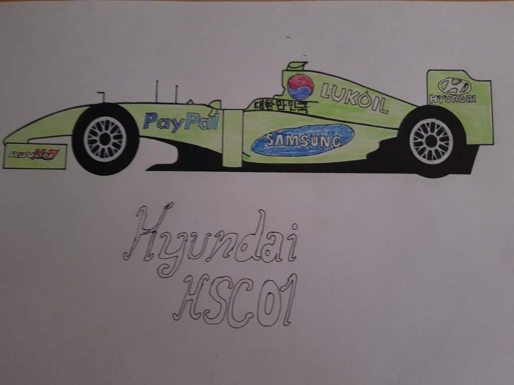 A Korean F1 Car If This Happen This Would Be Insane I Like The Green Its So Aesthetic Formula 1 Amino