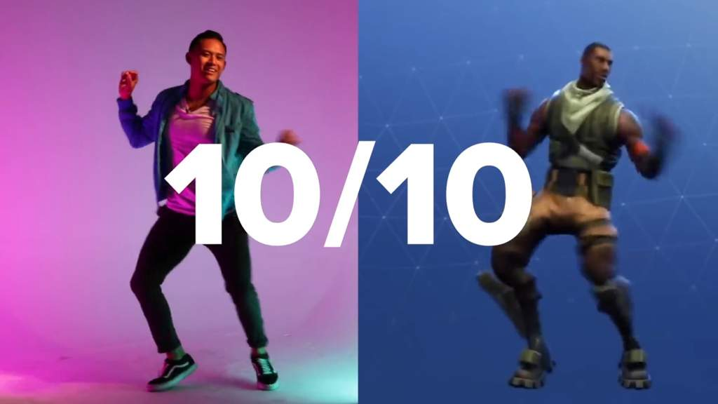 buzzfeed posted a video on the 22nd where professional dancers attempt emotes in fortnite squat kick hype flapper and many more emotes were attempted - fortnite skin quiz buzzfeed