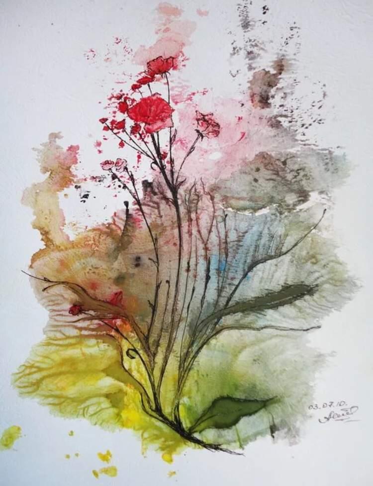 Картинки быстрые техники рисования