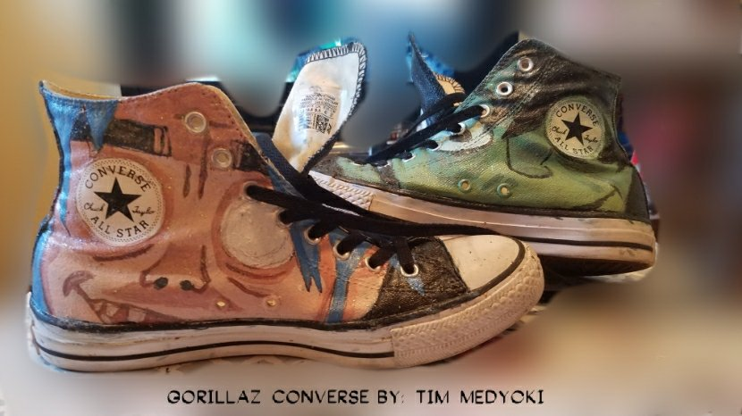 c5bcc265f942 My Hand Painted Gorillaz Converse