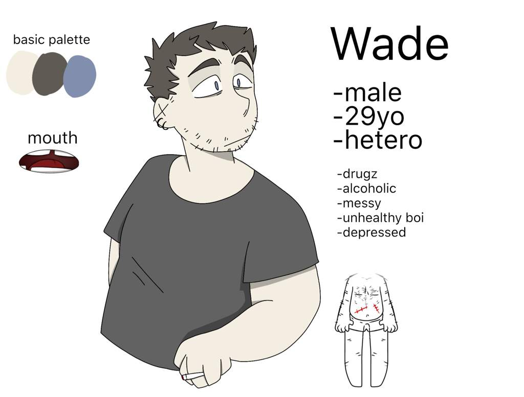 Wade , Art Reference //update//