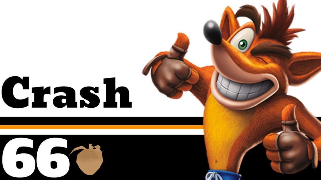 crash bandicoot smash bros