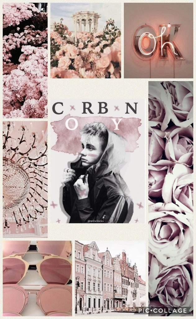 Rose Gold Bean Wallpaper