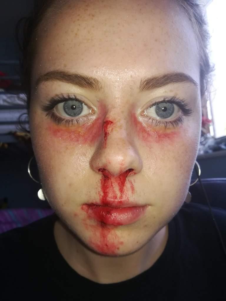 Beaten Up Face Makeup Saubhaya