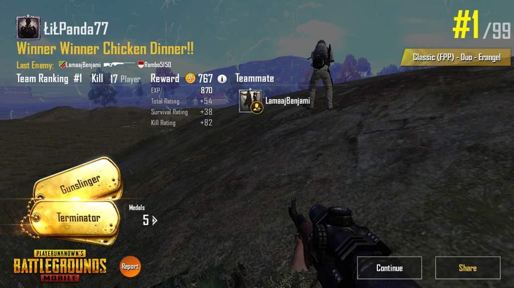 b3e7ef342a4e Winner Winner Chicken Dinner Duo | PUBG Mobile Amino