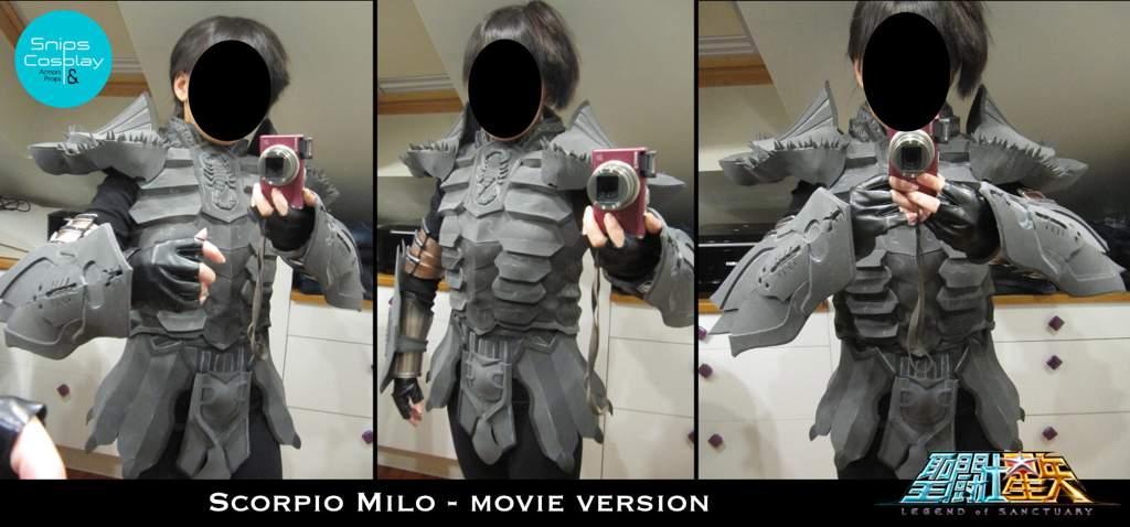 WIP - Milo (Saint Seiya - Legend of Sanctuary) | Cosplay Amino