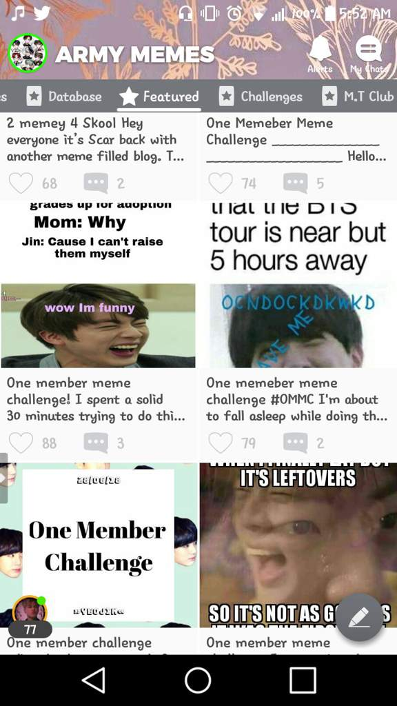 Night Owls May Face Special Challenges >> One Memeber Meme Challenge Army Memes Amino