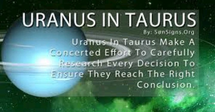 URANUS TRANSIT INTO TAURUS CAUSES DISRUPTION IN WORLD ORDER | Zodiac