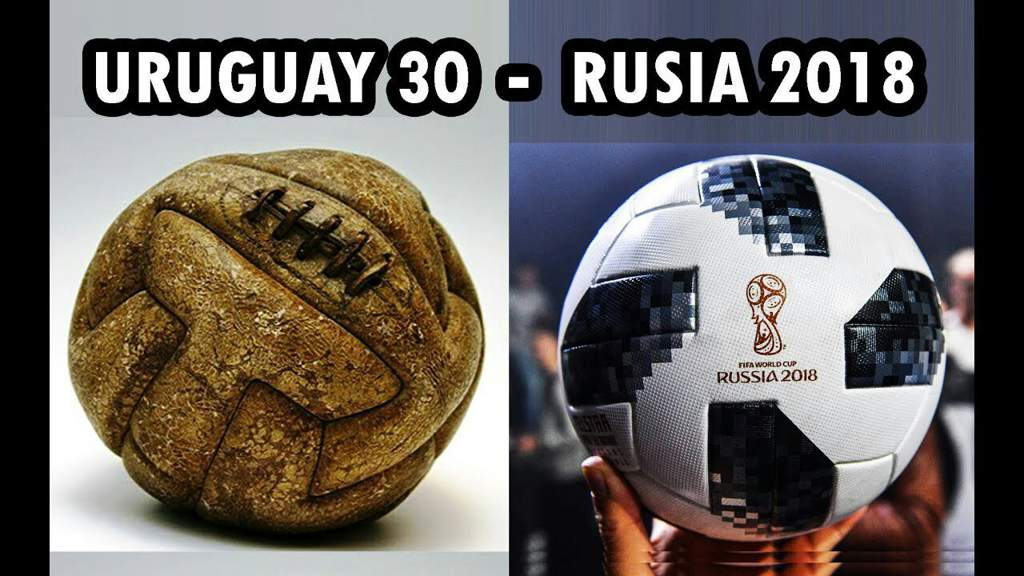 Todas Las Pelotas De Los Mundiales 1930-2018  bbff13e376cf1