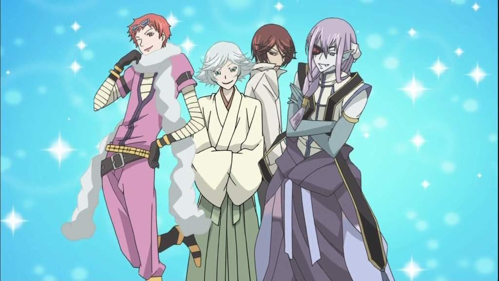 Картинка всех персонажей очень приятно бог