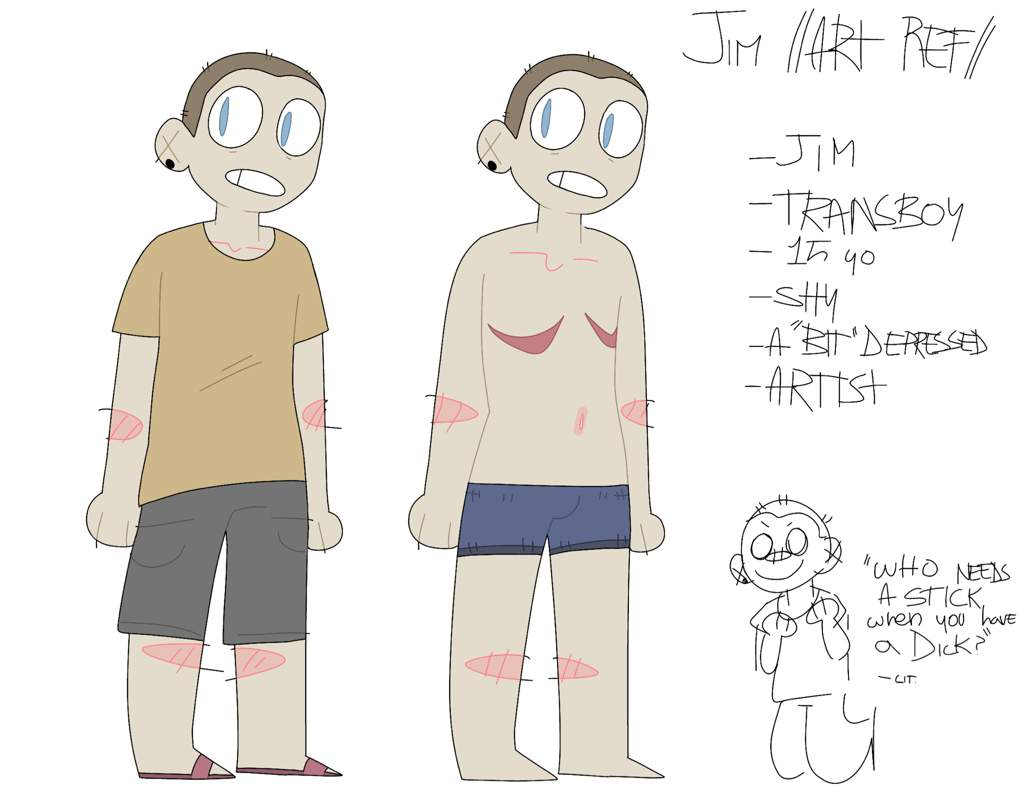 Jim , Art Reference