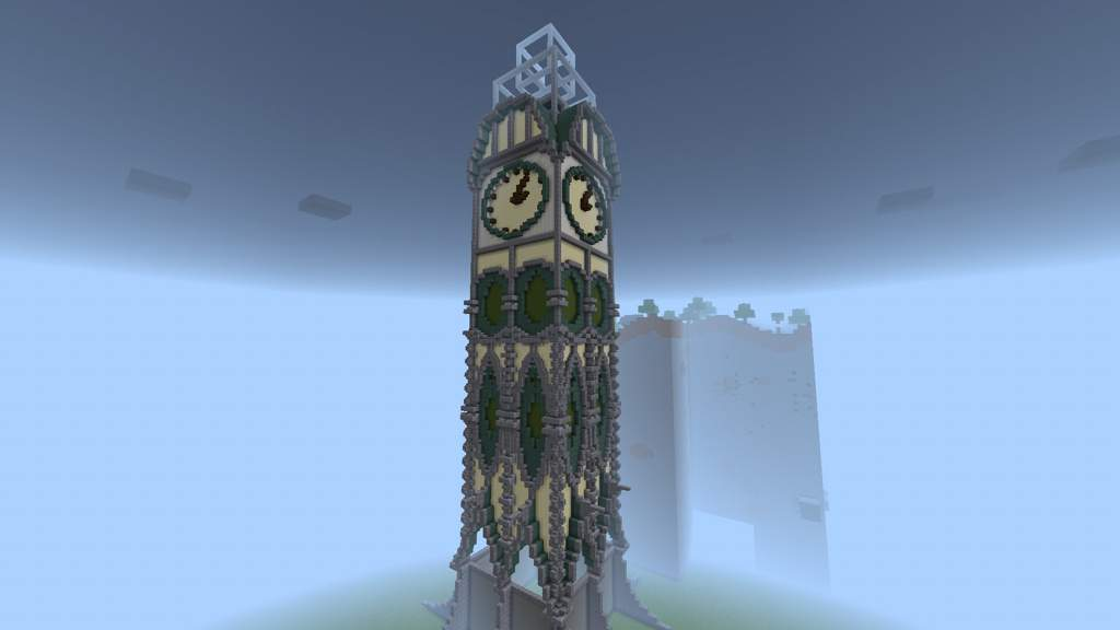 Fantasy Clock Tower Minecraft Amino