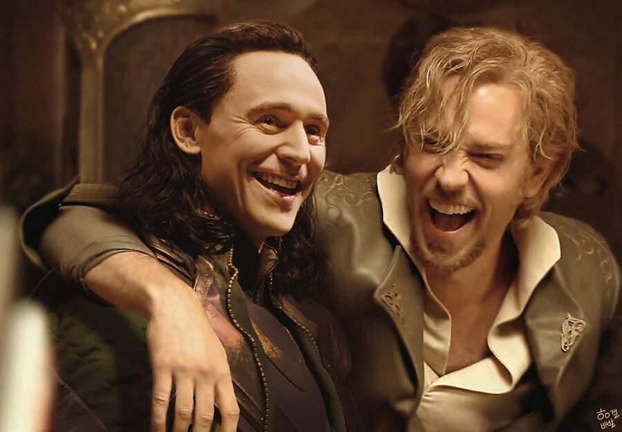 Fandral The Dashing Thor 2 Fandral x Loki ...