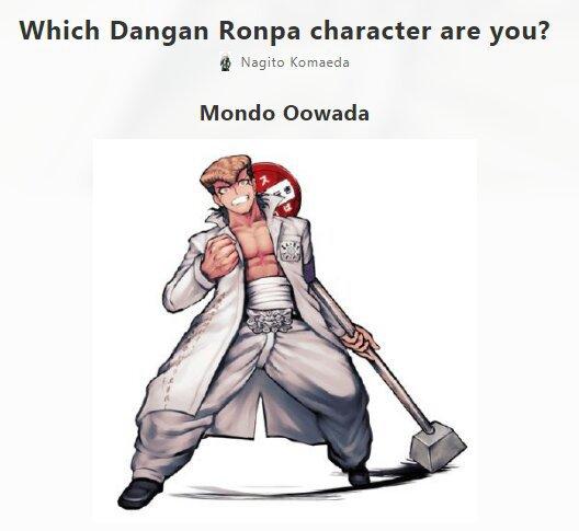 I took some Danganronpa personality tests    | Danganronpa Amino