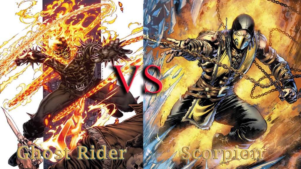Ghost Rider VS Scorpion | Battle Arena Amino Amino
