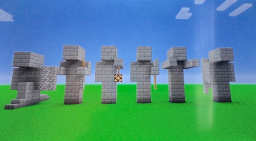 How To Build : Stone Statues! 👤   Minecraft Amino