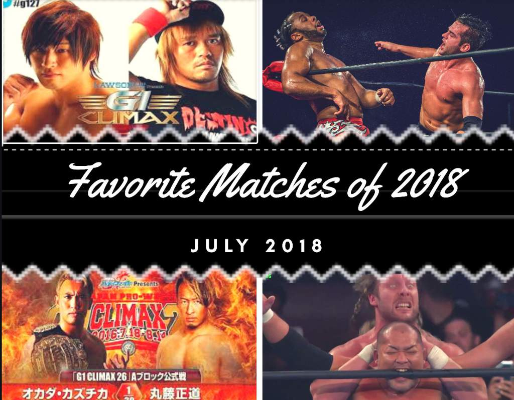Favorite Matches Of 2018 Part Ii Wiki Wrestling Amino