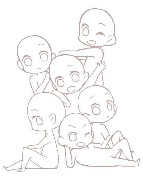 3 Base Drawings Aphmau Amino
