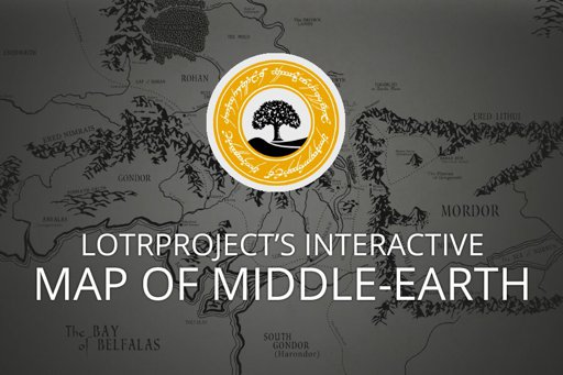 Interactive Map Middle Earth Interactive Map of Middle Earth   LotrProject | LOTR Amino