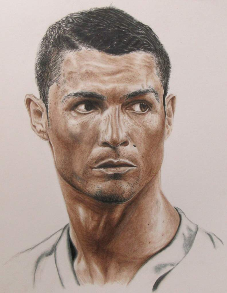Cristiano ronaldo two colours challenge