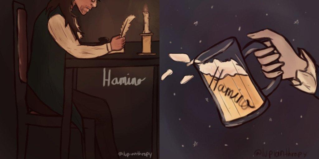 entries for hamino 2nd year icon lol | Hamilton Amino