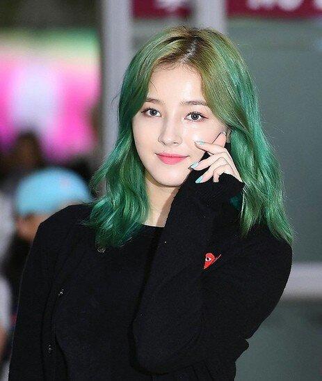 Nancy S Green Hair Momoland Amino