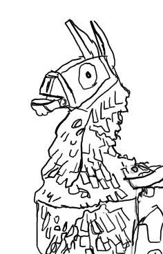fortnite llama drawings / fortnite llama drawing drone