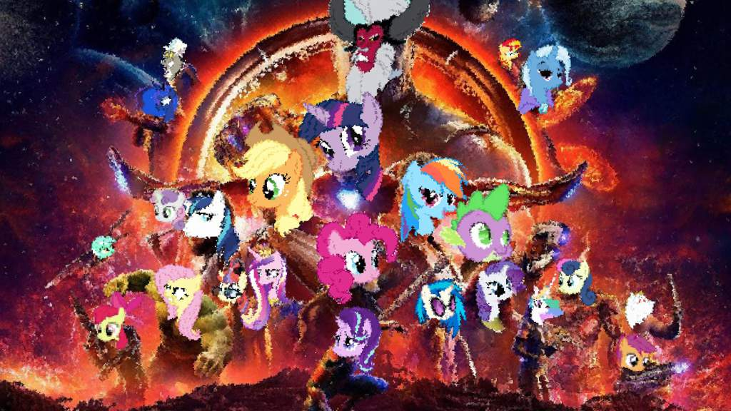 Mlp Infinity War Poster Equestria Amino