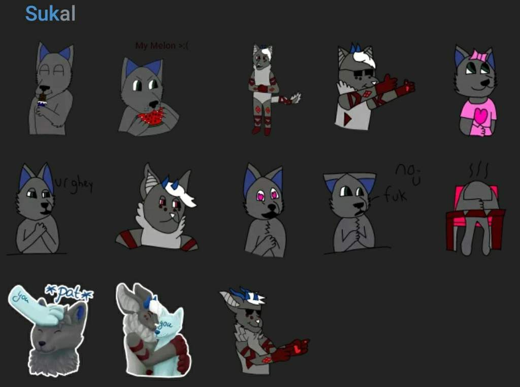 Telegram Sticker Ideas Furry Amino