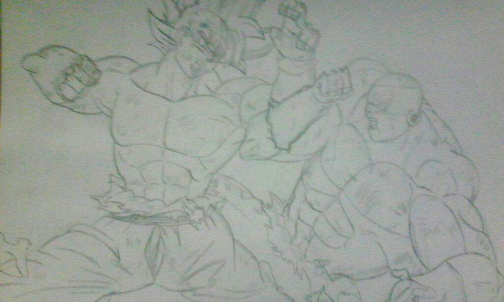 Drawing Of Goku Ultra Instinto Dominado Jiren Full Power