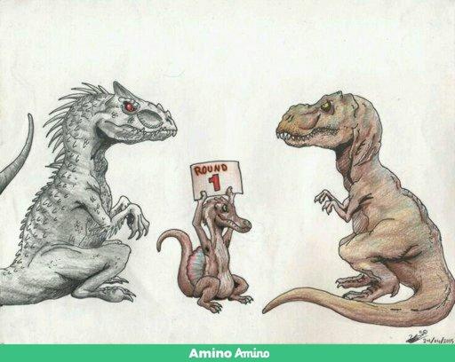 indoraptor vs indominus rex dino world br pt amino