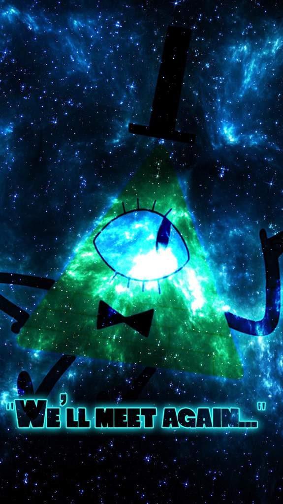 This Is My First Post And Here A Wallpaper That I Made On Photoshop Of Bill Cipher For IPhone 6