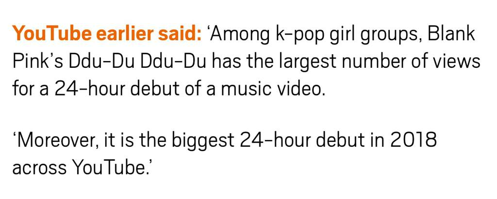 DDU DU DDU DU IS THE MOST WATCHED KPOP MV IN THE FIRST 24 HRS