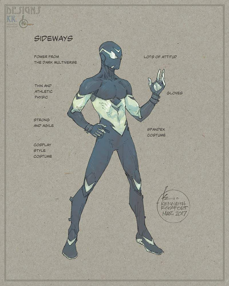 Sideways Wiki Dc Entertainment Amino Kaoos Spaandex Batman He Can Be Serious At Some Times But Not As Also Tries To Crack Up Jokes With His Friend Ernestine