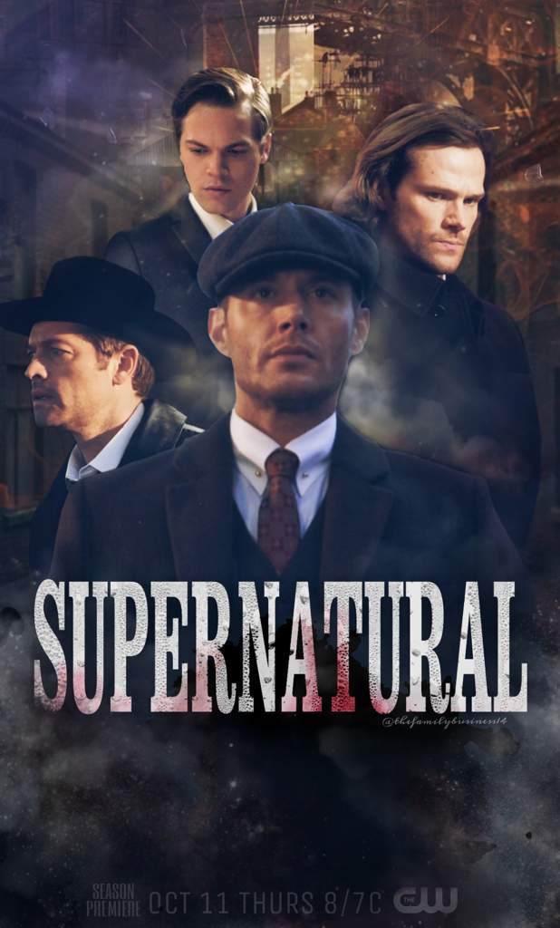 ff544015796 ❀Edit#5 Supernatural in Peaky Blinders style | Supernatural Amino