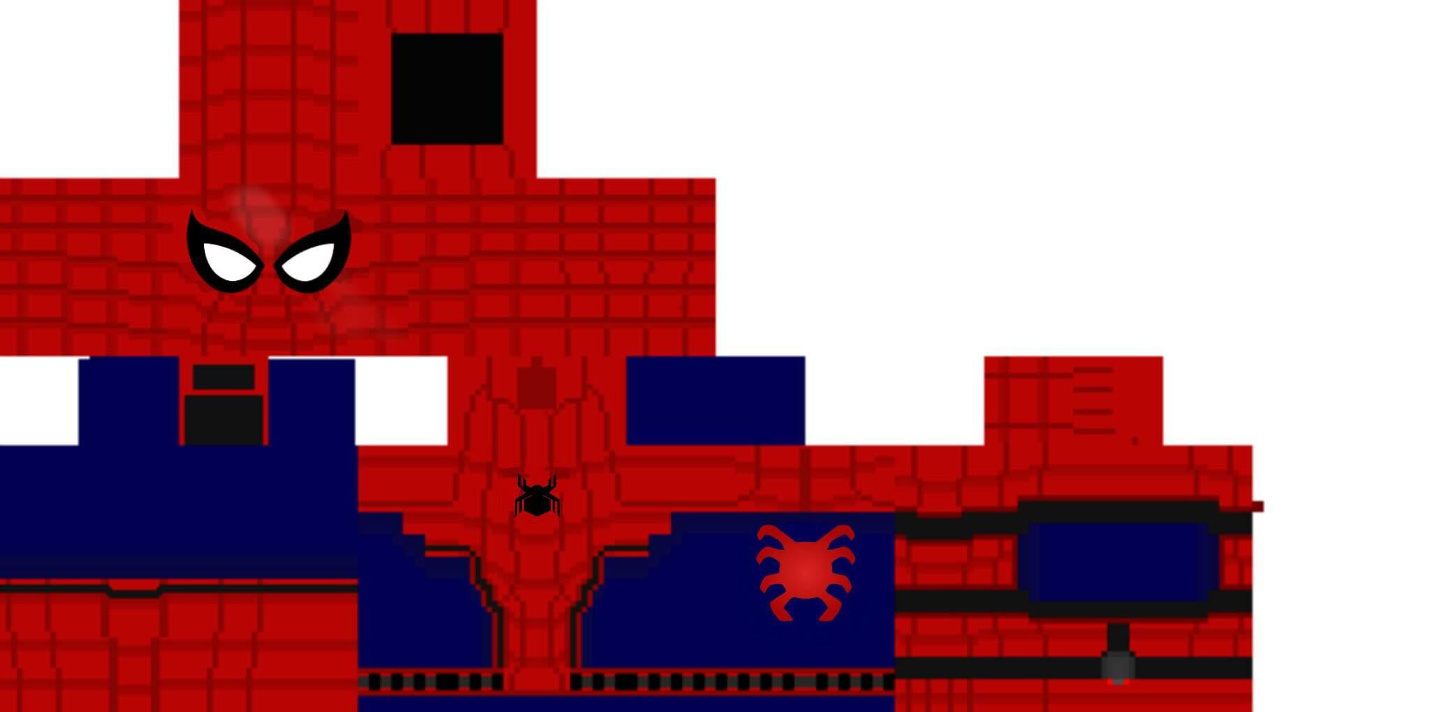 Minecraft spider-man homecomg  Marvel Comics em Português