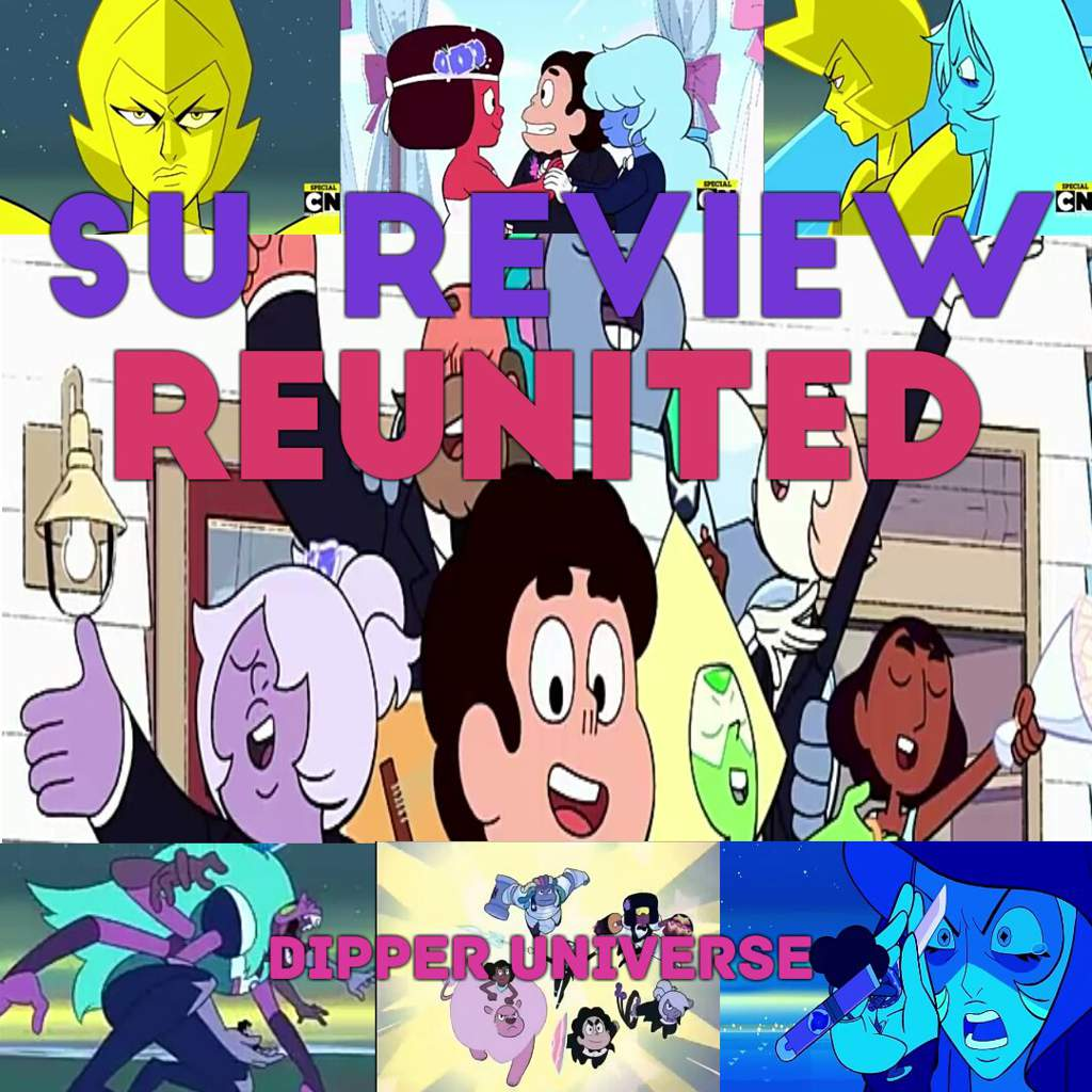 Su Review Reunited Spoilers Cartoon Amino Howreplaceblownfuse6427 Hey Everyone Dipper Universe Here And Today Im Going To Steven Season 5 Episode 23 24 Before I Start Just Have Say That This