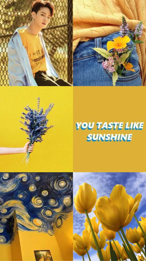 Yellow Aesthetic Wallpapers Got7 Amino