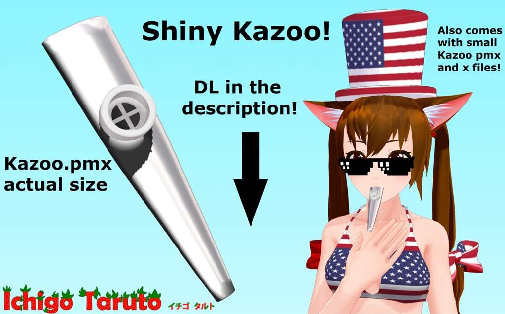 MMD DL] Shiny Hi-Poly Kazoo | MMD Amino