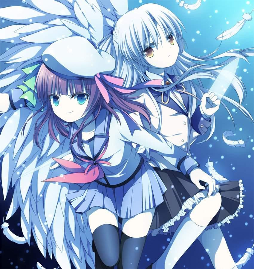 Аниме ангельские ритмы