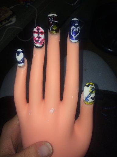 Kingdom Hearts Nails