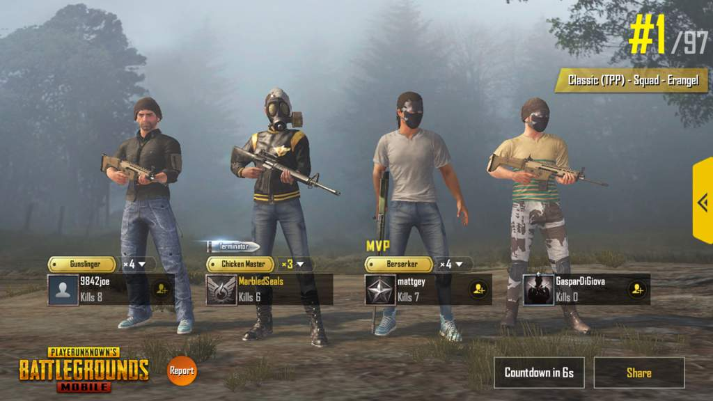 Todays Win | PUBG Mobile Amino