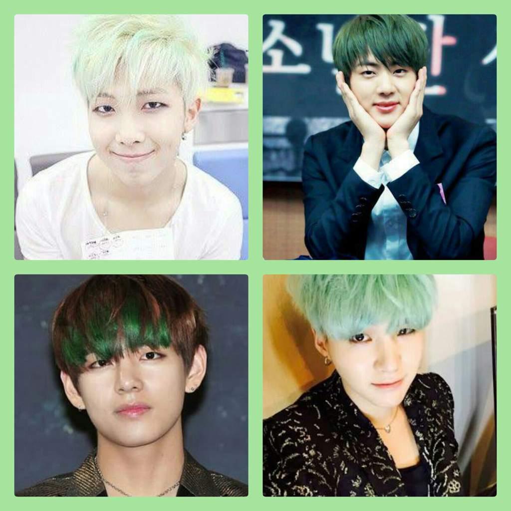 Bts Hair Colours Army S Amino